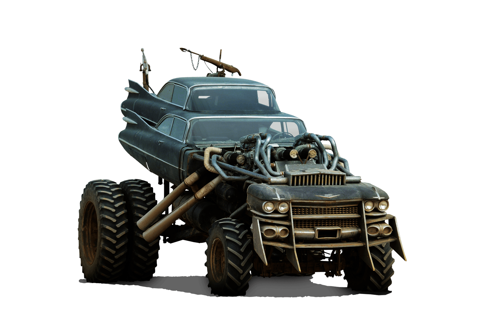 Presenting the absolutely insane vehicle lineup for the mad max fury road movie